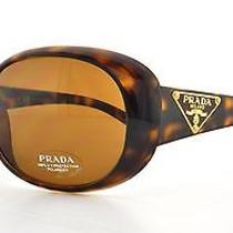 Prada Sunglasses Pr 27ls 2au5y1 Havana 57mm Photo