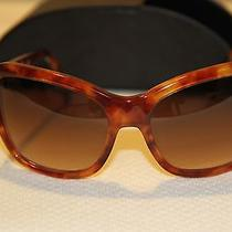 Prada Sunglasses Pr24n Brown Tortoise Havana Made in Italy Gradient  Auth 245 Photo