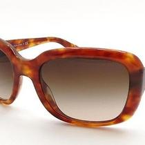 Prada Sunglasses Prada Spr 17p C.nak6s1 in Havana Tortoise With Brown Lenses Photo