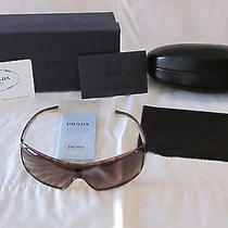 Prada Sunglasses Sport Shield Photo