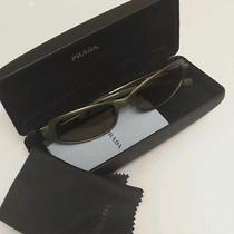 Prada Sunglasses Spr 6ba 1ac-2a1 Brand New Unisex Photo