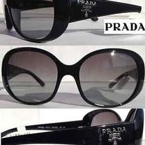 Prada Sunglasses Spr26 Black W Prada Logo Prada Case 389.98 Save 50% Photo