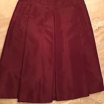 Prada Taffeta Skirt It 42 Pleats   Photo