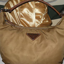 Prada Tan/gold Hobo Photo
