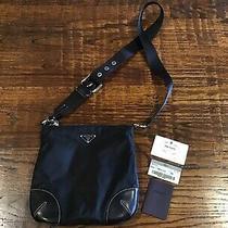 Prada Tessuto Light Bt0332 Black Purse Bag Photo