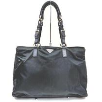 Prada Tote Bag  Black Nylon 1604851 Photo
