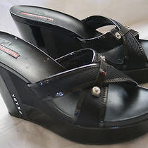 Prada Wedge Sandals (Size 41.5) Photo