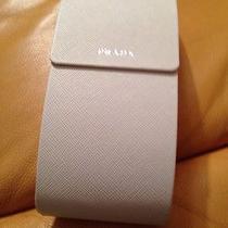 Prada White Sunglasses Case Large Size Photo