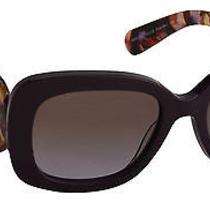 Prada Women's Sunglasses Pr27os 54mm Violet Rom6p1 Photo