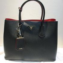 Prada Women's Top-Handle Bag Purse Bn 2756t Nero/black  (B2) Photo