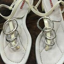 Prada Womens Sandals Sz Eur 36.5 Photo
