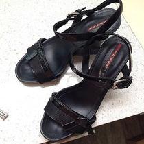 Prada Womens Shoes Size 37 1/2 Photo