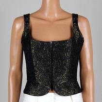 Prada Womens Silk Corset Size 42 Photo