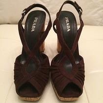 Prada Womens Suede Shoes. Size 8 Photo