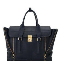 Pre-Owned 3.1 Phillip Lim Tote Bag (Blue Cowhide Leather) Photo