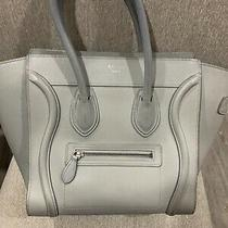 Pre-Owned Authentic Celine Med. Luggage Bag Photo