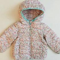 Pre-Owned Baby Gap Girl Jacket 18-24 Months Toddler Multi Dot Photo
