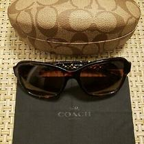 Pre-Owned. Coach 8232 L1010 Sunglasses 550713 100% Authentic. Lightly Used. Photo