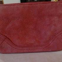 Preowned Coach Suede Wristlet in Pink Photo