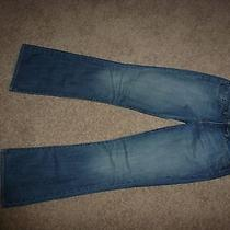 Pre-Owned Express Jeans Women Boot Cut Sz 6l Photo