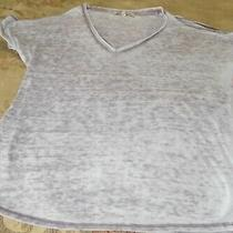 Pre-Owned Express One Eleven Women's Cold Shoulder T-Shirt Size Xs Photo