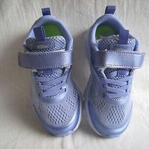 Pre Owned Girl Children Saucony Sneakers Shoes Form 2 U Memory Foam Size 11.5 Photo