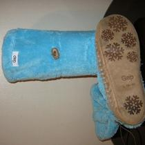 Pre-Owned in House Women's Aqua Blue Booties Size 9-10  Photo