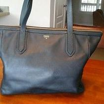 Pre-Owned Ladies  Blue Fossil Shopper Photo