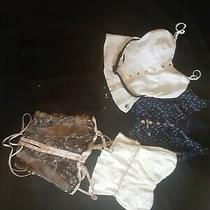 Pre Owned Lot O 5 Womens Corset and Vest Tops by Guess Clothing Photo