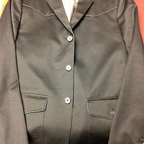 Pre-Owned Men's Express Black Country Style Size 40r Sport Jacket Perfect Shape Photo