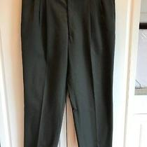 Pre-Owned Men's Pierre Balmain Dress Pants Size 44r/39 Gray With Lighter Lines Photo