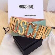 Pre-Owned Moschino Leather Belt Photo