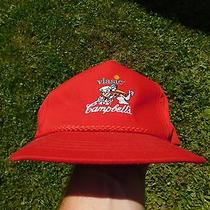Pre-Owned Red Vlasic Campbell's Snapback Hat Photo