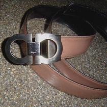 Pre-Owned Salvatore Ferragamo Ornament Black Belt -40 Photo