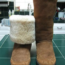 Pre Owned Ugg Boots Size 10w Hardly Worn and in Very Good Used Condition Photo