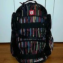 Pre-Owned Unisex Burton Laptop Computer Sports Bag Backpack Pack Snowboard Photo