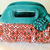Pre Owned Vera Bradley Small Clutch Bag Depth 7h 11l14  Multi Colorplastic Photo