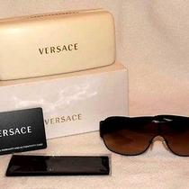 Pre-Owned Versace Women's Aviator Sunglasses Photo