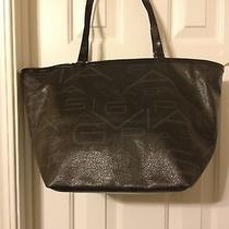 Pre-Owned via Spiga Tote Large Black Signature Photo