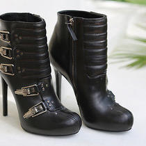 Preowned Alexander Mcqueen stiv.to Pelle S Cuoi Booties 15