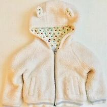 Preowned Baby Gap Girl Sarah Jessica Parker 3 Year Old Toddler Jacket White Photo