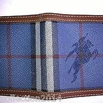 Preowned Burberry Wallet Blue Photo