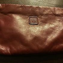 Preowned Burgundy Anne Klein Clutch Purse Photo