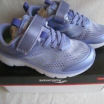 Preowned Girls Kids Saucony Shoes Sneakers Size 12 W Photo