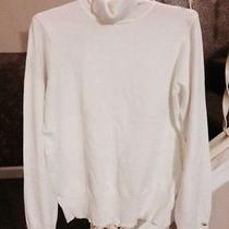 Preowned Ivory Sweater Forever 21 Large Photo