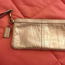 Preowned Metallic Coach Clutch  Photo