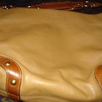 Preowned Tan Coach Satchel Handbag Photo