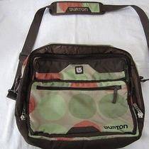 Preowned Unisex Burton Brand Laptop Computer Book Bag With Shoulder Strap  Photo