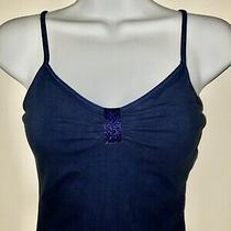 Preowned Womens Express Brand Essential Tank Top Size Xs Navy Blue Photo