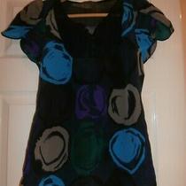 Pretty & Elegant Armani Exchange Silk Top Size Xs Photo